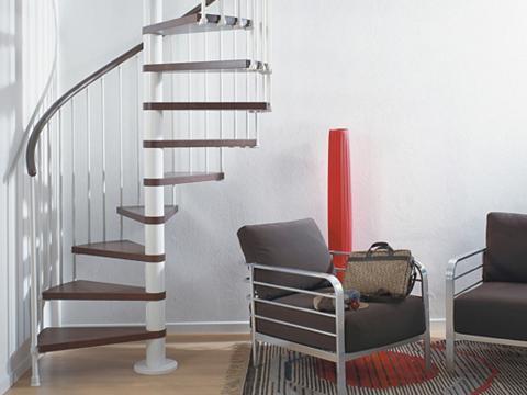 Sraigtiniai-spiraliniai laiptai »Ring«...