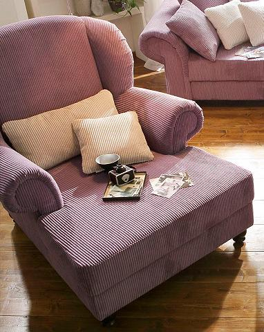 HOME AFFAIRE Ilgas fotelis »King Henry« su spyruokl...