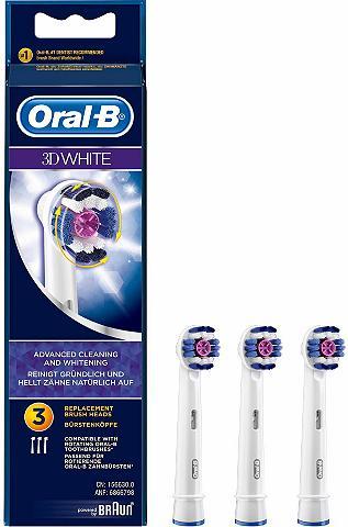ORAL-B Dantų šepetėlių antgaliai 3DWhite dėl ...