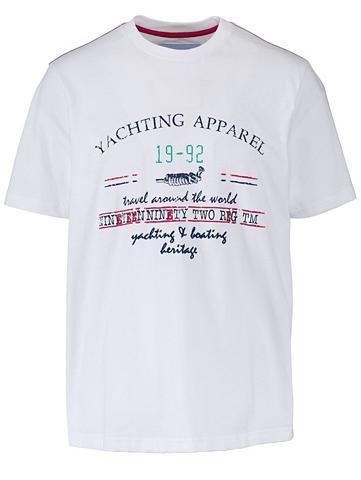 Marškinėliai su Kontrastnähte