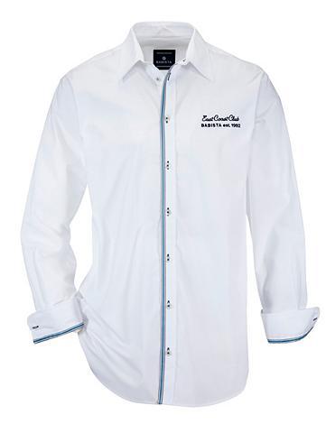 Marškiniai su gražus Verzierung