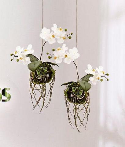 Dirbtinis augalas »Hänge Orchidee«