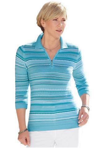 Megztinis su Polo tipo apykaklė
