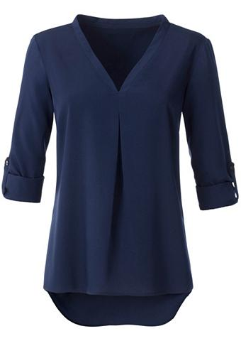 AMBRIA Ilgi marškiniai su su V formos iškirpt...