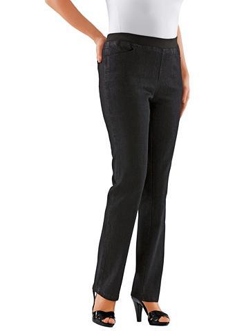 CLASSIC BASICS Kelnės su aukštas patogus liemuo