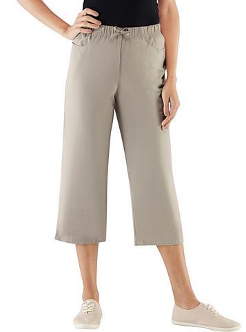CLASSIC BASICS 3/4 ilgio kelnės su patogus plačiu juo...