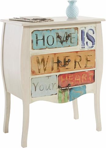 HOME AFFAIRE Komoda »Home is where your Heart is« p...
