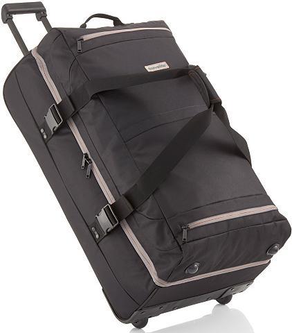 Kelioninis krepšys su 2 ratukais
