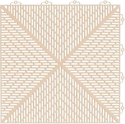 Bergo Flooring Grindų danga: Plastikinės plytelės »Un...