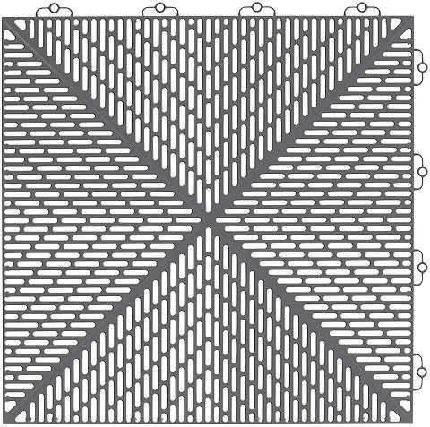 Bergo Flooring Grindų danga: Kunststoff-Fliese »Uniqu...