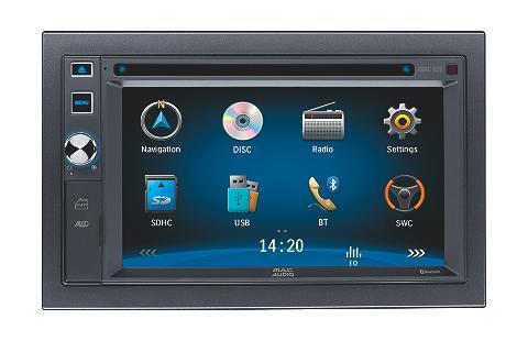 MAC 620 2 DIN 16 cm / 6.2