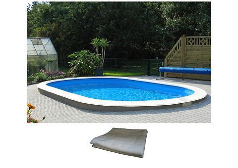 Ovalus baseinas »Premium« in 3 dydžiai...
