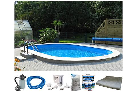 Komplektas: ovalus baseinas »Premium« ...