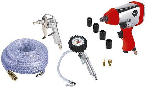 EINHELL Pneumatinių įrankių rinkinys »Set 10-t...