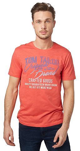 Marškinėliai »T-Shirt su Schrift-Print...