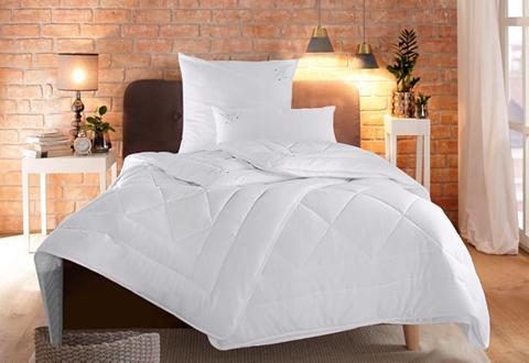 RIBECO Dygsniuota antklodė + pagalvė »Jan« Pi...
