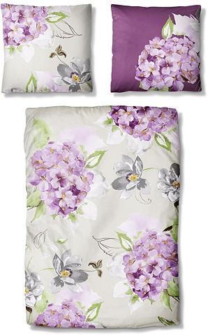 Patalynė »Lavender« su Blütenmotiven