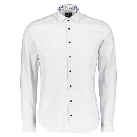 Premium Marškiniai su Mini-Punkt-Print...