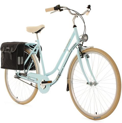 KS CYCLING Moteriškas dviratis 28 Zoll blau 3 Gan...