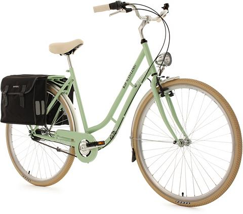 Moteriškas dviratis 28 Zoll grün 7 Gan...