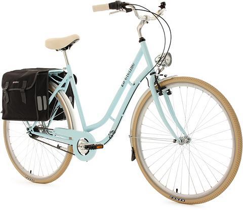 Moteriškas dviratis 28 Zoll blau 7 Gan...