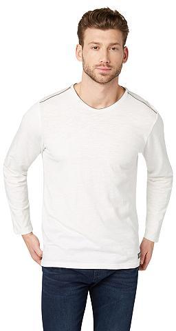 Marškinėliai »Langarmshirt su Logo-Pri...