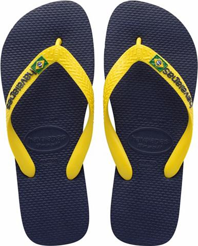 Šlepetės per pirštą »Brasil Logo«