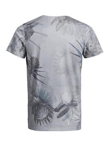 Jack & Jones gėlių raštas Marškinėliai...
