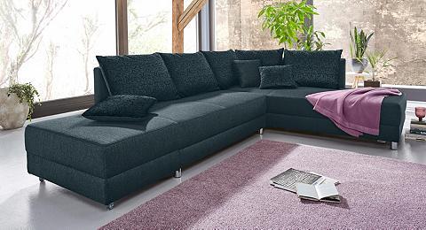 Kampinė sofa su miegojimo funkcija dur...