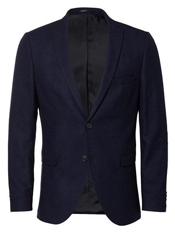 Slim-Fit-Blazer su Pattentaschen