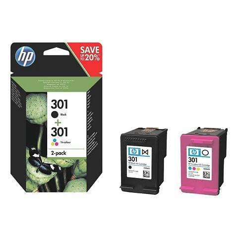 HP Rašalo kasečių rinkinys »N9J72AE« 301