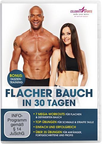 Treniruočių DVD »Flacher Bauch«