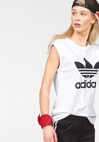 ADIDAS ORIGINALS Marškinėliai »BF TREFOIL ROLL UP TEE«