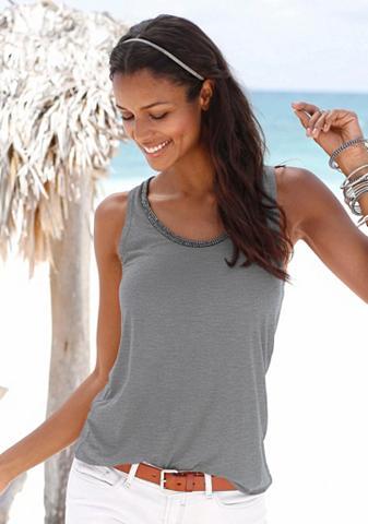 S.OLIVER RED LABEL Paplūdimio Marškinėliai be rankovių su...