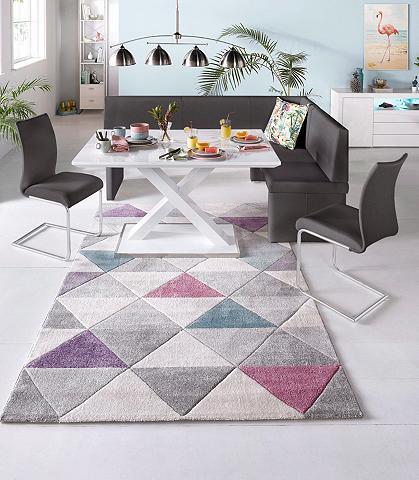 STEINHOFF Kampinis virtuvės suolas su kėdėmis 4 ...