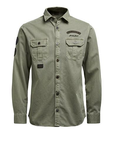 Jack & Jones Patch- marškiniai ilgomis...