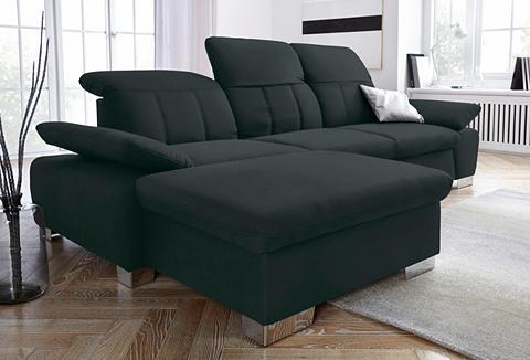 Kampinė sofa su Rückenverstellung ir s...