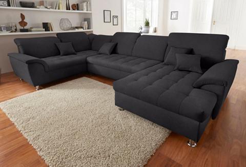 DOMO collection Sofa patogi su miegojimo funkcija ir K...