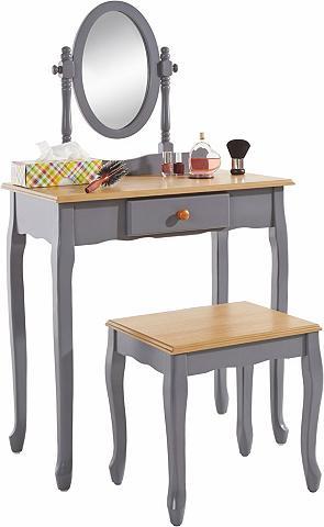 HOME AFFAIRE Kosmetinis staliukas su Kojų kėdutė ir...