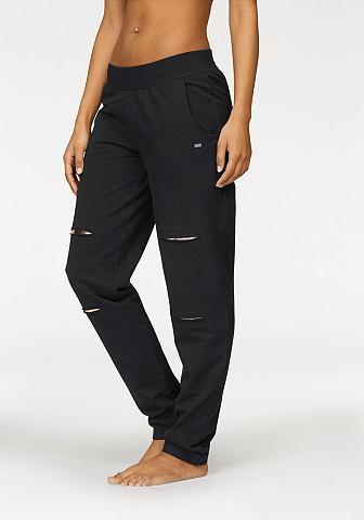 BUFFALO Kelnės su glänzenden intarpas
