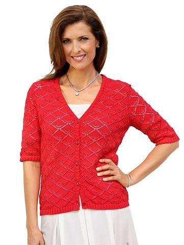 MONA Megztinis in luftigem Ajour