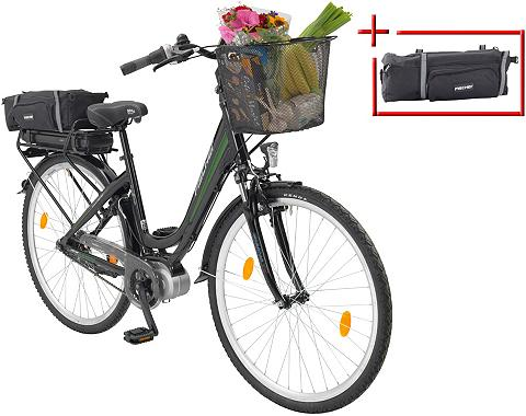 Elektrinis dviratis City Moterims