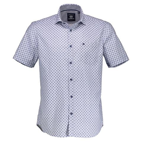 Marškiniai trumpom rankovėm su raštas