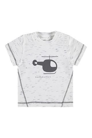 Marškinėliai Baby Boy su Heli raštas