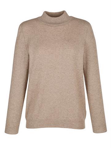 MONA Kašmyrinis megztinis su stačia apykakl...