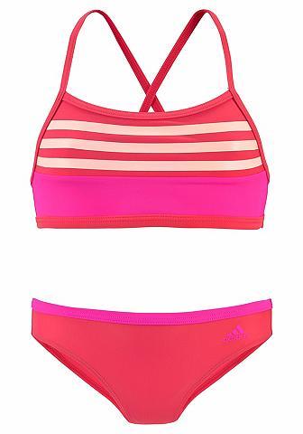 ADIDAS PERFORMANCE Bikini maudymosi kostiumėlis su Kontra...