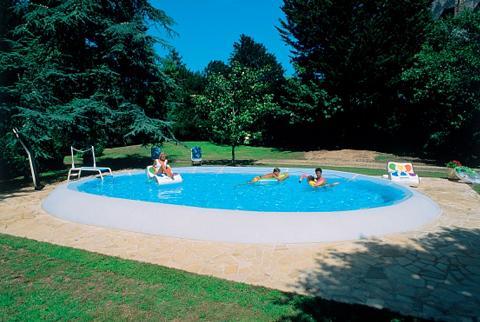 Ovalus baseinas »Ovline 2000« 7-tlg. B...