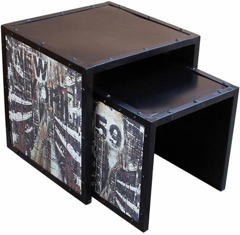 2-Satz-Tisch »Steel«