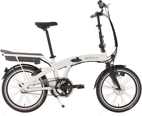 Falt dviratis 20 Zoll weiß 3 Gang Shim...