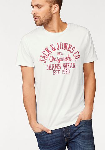 JACK & JONES Jack & Jones Marškinėliai »UBBE Marški...